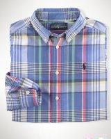 """Рубашка """"Blue""""  Ralph Lauren"""
