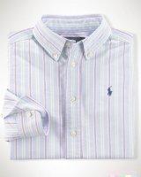 """Рубашка в полоску Blue""""  Ralph Lauren"""