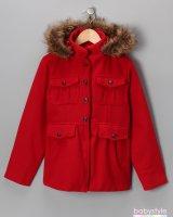 Пальто красное Dollhouse