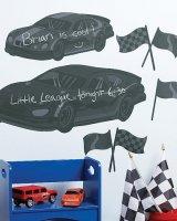"""Наклейки на стену для рисования """"Автогонки"""""""