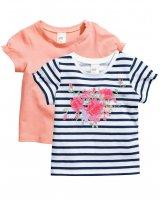 """Детские футболки (2шт) """"Цветы"""" H&M"""
