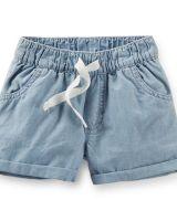 Детские шорты  голубые Carters