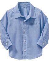 """Рубашка с длинным рукавом """"A NEW BLUE"""" Old Navy"""