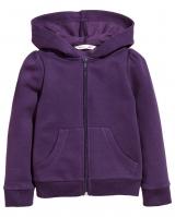 "Детская кофта ""Dark purple"" H&M"