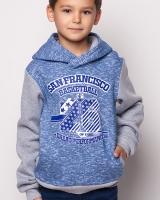 "Кофта ""San Francisco"" синяя Mevis"
