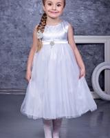 """Платье """"Нежность"""" белое Zironka"""