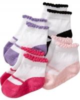 "Детские носки (4 пары) ""Ballet-Graphic "" Old Navy"