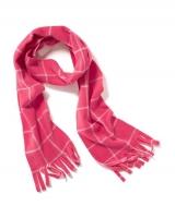"""Детский флисовый шарф """"Розовая клетка"""" Old Navy"""
