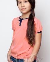 Блуза оранжевая Mevis