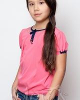 Блуза розовая Mevis