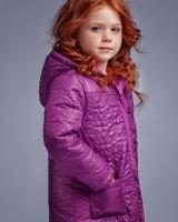 "Куртка демисезонная ""Purple decor"" Zironka"