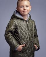 "Куртка демисезонная ""Green rhombus"" Zironka"