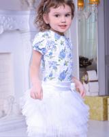 """Комплект (футболка и юбка) """"Lilac"""" Zironka"""