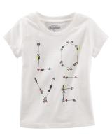 "Детская футболка ""Love"" OshKosh"