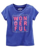 "Детская футболка ""WONDERFUL"" OshKosh"