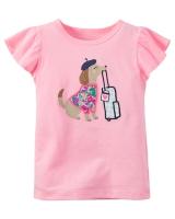 """Детская футболка """"Dog"""" Carters"""