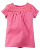 """Детская футболка """"Pink"""" Carters"""