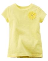 "Детская футболка ""Yellow"" Carters"