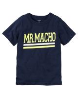 "Детская футболка ""MR.MACHO"" Carters"