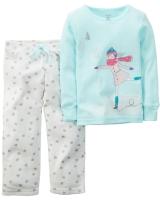 "Детская пижама ""Фигуристка"" Carters"