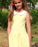"""Платье желтое """"Desert"""" Mevis"""