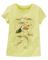 "Детская футболка ""Птицы"" OshKosh"