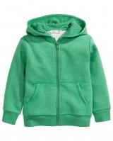 """Детская кофта c капюшоном """"Green """" H&M"""