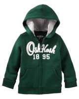 """Детская кофта c капюшоном """"Green"""" OshKosh"""