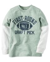 "Детский реглан ""First Round Draft"" Carters"