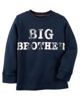 "Детский реглан "" Big Brother "" Carters"