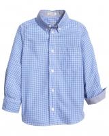 """Детская рубашка """"Клетка"""" H&M"""