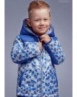 "Куртка синяя ""Triangles"" Zironka"