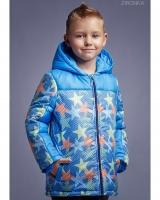 """Куртка голубая """"Big stars"""" Zironka"""