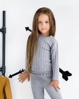 """Шерстяной свитер серый """"Софія"""""""