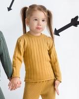 """Шерстяной свитер горчичный """"Софія"""""""