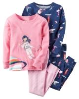 "Детская пижама (2 шт) Carters ""НЛО"""