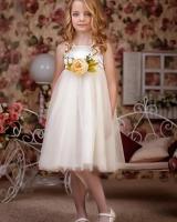 "Нарядное детское платье ""Classic white"" Zironka"