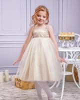 """Нарядное детское платье """"Gold"""" Zironka"""