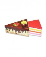 Бумага для заметок  «Фрукты в шоколаде»