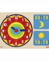 Игровой набор для изучения времени GOKI