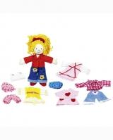 Кукла с одеждой GOKI