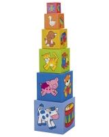 Набор ярких кубиков GOKI