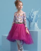"Нарядное детское платье ""Пурпур"" Zironka"