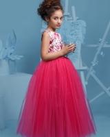 """Детское нарядное платье """"Цветы"""" Zironka"""