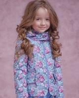 """Детская куртка """"Цветочная"""" Zironka"""
