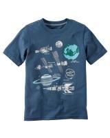 """Детская футболка """"Космос"""" Carters"""