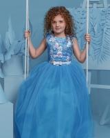"""Детское нарядное платье """"Лагуна"""" Zironka"""