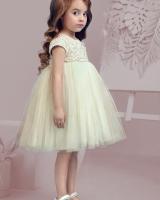 """Детское нарядное платье """"Porcelian Dolls -White"""" Zironka"""