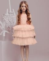 """Детское нарядное платье """"Pink"""" Zironka"""