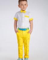 "Комплект (брюки, рубашка,бабочка) ""Yellow"" Zironka"